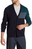 Perry Ellis Colorblock Cardigan