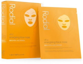 Rodial Vitamin C Cellulose Sheet Mask/Set of 4