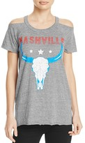 Chaser Nashville Cold Shoulder Tee - 100% Exclusive