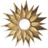 "36"" Brackenhead Gold Metal Mirror"