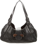 Tod's Grained Leather Shoulder Bag