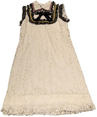 Gucci White Lace Dress for Women
