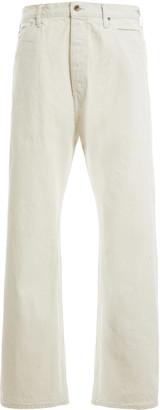 Chimala Selvedge Rigid Mid-Rise Straight-Leg Jeans