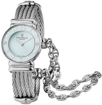 Charriol Women's St Tropez Diamond Watch