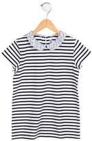 Jacadi Girls' Striped Knit Top