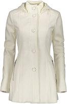 Kensie Winter White Button-Up Coat