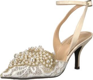 J. Renee Womens Desdemona Ivory/White Pearls 11 M (B)