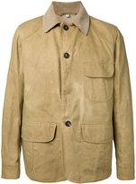 Kent & Curwen panelled shirt jacket - men - Cotton - L