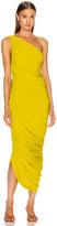 Norma Kamali Diana Dress in Citrus   FWRD