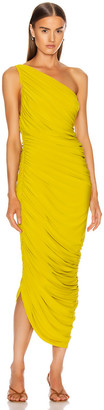 Norma Kamali Diana Dress in Citrus | FWRD