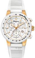 Salvatore Ferragamo F-80 Collection F55LCQ75101 S121 Women's Titanium Quartz Watch