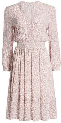 Rails Renata VIne Print Midi Dress