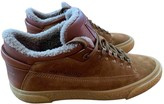 Louis Vuitton Camel Leather Trainers