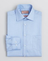 Thomas Pink Burnett Glen Plaid Dress Shirt - Classic Fit