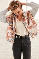 BDG Casio Patchwork Layered Jacket