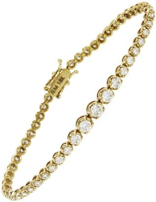 Jennifer Meyer Graduated Diamond Tennis Bracelet - Yellow Gold