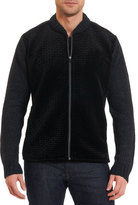 Robert Graham Limited Edition Alden Full-Zip Sweater-Jacket