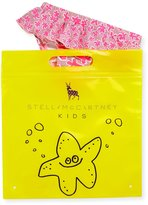 Stella McCartney Skirted Daisy Swim Bottoms, Pink, Size 12-24 Months