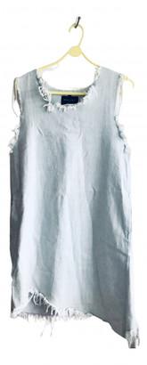 Marques Almeida Blue Denim - Jeans Dresses