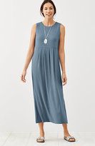 J. Jill Empire-Waist Knit Maxi Dress