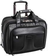 McKlein McKleinUSA Chicago 15.6 Nylon Detachable -Wheeled Laptop Overnight with Removable Briefcase