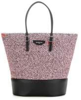 Balenciaga Fabric and leather shopper