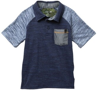 Joe's Jeans Raglan Sleeve Polo Shirt