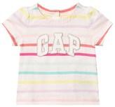 Gap Multi Stripe Garch Short Sleeve Top