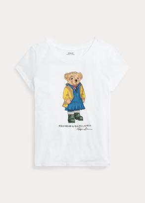 Ralph Lauren Raincoat Bear Jersey Tee