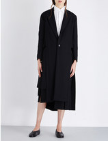 Yohji Yamamoto Single-breasted wool coat