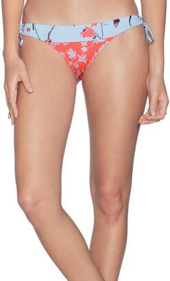 Maaji Loop Glimmer Mixed Print Bikini Bottoms