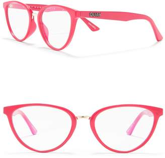 Quay 57mm Rumours Blue Light Blocking Glasses