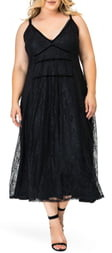 Standards & Practices Bethany Lace Maxi Dress