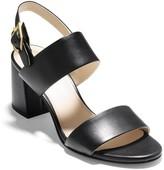 Cole Haan Avani Leather Block Heel Sandal