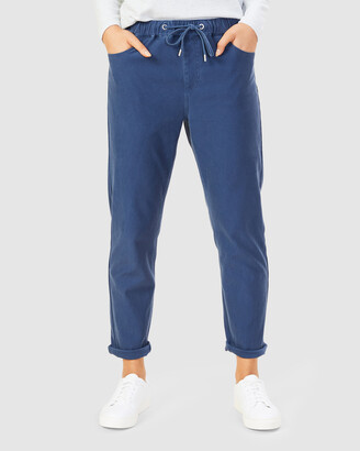 French Connection Women's Pants - Relaxed Denim Joggers - Size One Size, 10 at The Iconic