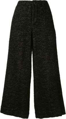 UMA WANG Herringbone Tweed Culottes