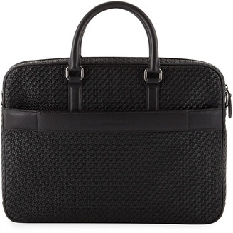 Ermenegildo Zegna Men's Pelle Business Bag