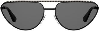 Moschino Moschinio Eyewear Cat Eye Sunglasses