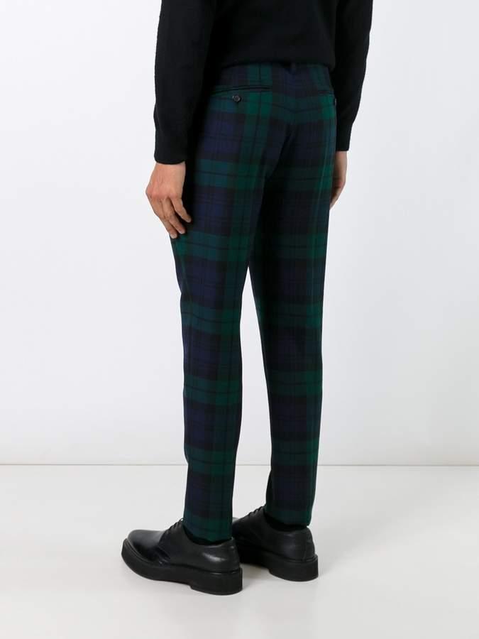 DSQUARED2 tartan trousers