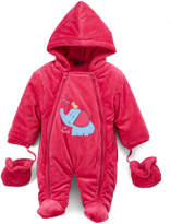 Sweet & Soft Hot Pink Elephant Snowsuit - Infant