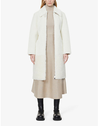 Claudie Pierlot Fenda faux-fur coat