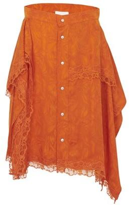 Koché Jacquard skirt