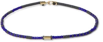 Luis Morais Gold And Bead Bracelet