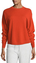 Vince Shirttail Cashmere Crewneck Sweater