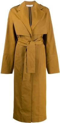 Victoria Beckham Tie-Waist Trench Coat
