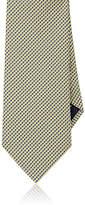 Brioni Men's Basket-Weave Neat Silk Necktie