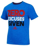 adidas Boys' Zero Excuses Climalite Tee - Sizes 4-7