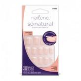 Nailene So Natural Everyday French, Short Pink 1 Kit