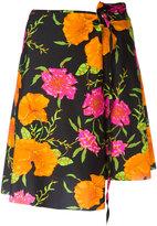 Balenciaga floral print skirt