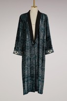 Forte Forte Forte_forte Velvet Ikat print Kimono